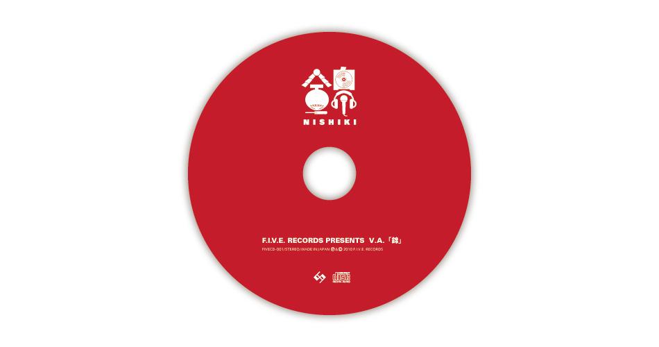 F.I.V.E. Records / 錦 Jacket Design