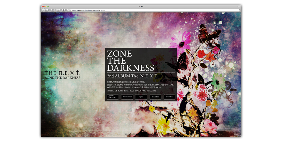 ZONE THE DARKNESS OFFICIAL WEB